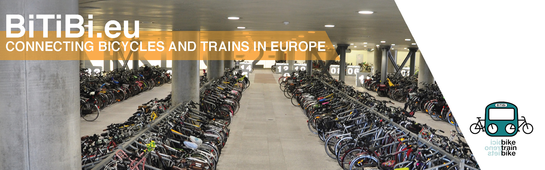 BiTiBi - Combining bicycles with rail transport in Europe